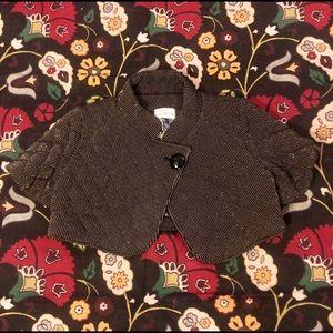 Black & Gold quilted crop jacket RYUKYU QUEENDOM